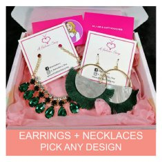 Earrings + Necklace Gift Set