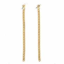 B-MLSF-A85 Gold Pearl Dangling Earrings Malaysia