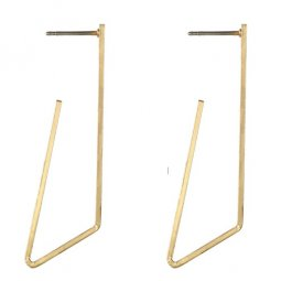 A-YG-sku4872 Gold Gemoetry Elegant Dinner Korean Earstuds