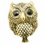 C10083063 Vintage cute owl korean chunky ring malaysia shop