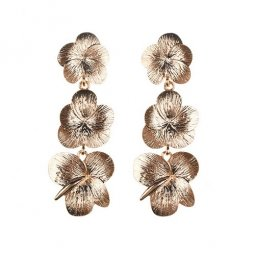 A-QF-JE1283 Gold Flower Classic Korean Alisha Earrings Malaysia
