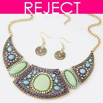 RD0431- Reject Design RD431 - Choker and earrings Set
