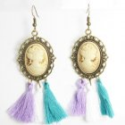A-SD-Princess Vintage Princess Spring Colourful Hook Earrings
