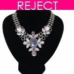 RD0153-Reject Design RD0153 -Elegance shiny moon choker necklace