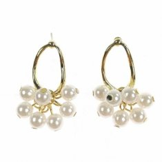 A-TT-650 White And Gold Pearl Korean Elisha Collection