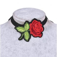 A-HP-17060801 Rose Elegant Dinner Tattoo Choker Necklace