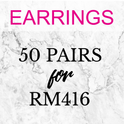 Earrings - 50 Pairs ( Choose Any 50 Earrings Designs)