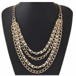 C0150728114 Pearl tiple layer chains klong necklace malaysia