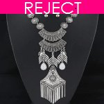 RD0126- Reject Design RD0126- Choker and Earrings Set