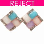 RD0219- Reject Design RD0219- Colourful Earstuds