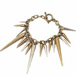 P90181 18.5cm Arrow dangling vintage korean bracelet wholesale