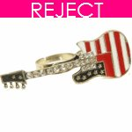 RD0021- Reject Design RD0021 - Guitar two fingers Ring