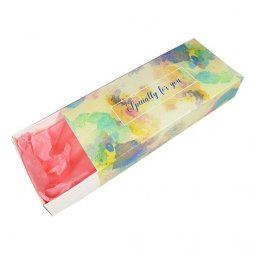 L-UN-LBpaint Long Box Paint Splatter Specially For You Gift Box