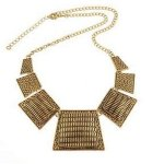 A-H2-100X525 Vintage square elegant statement necklace malaysia