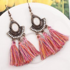 A-SD-XL109633colourful2 Colorful Pink Tassels Vintage Bead Hook
