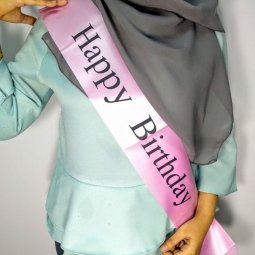 A-PT-UK2- Pink Happy Birthday Sashas Malaysia