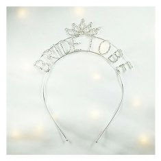 A-SY-FG024 Sparkly Diamond Bride To Be Wording Headband