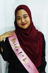 A-SH-001 Pink Bride To Be Party Sashes Malaysia Shop Wedding