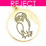 RD0007- Reject Design - Short owl necklace korean accessories