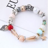 C101127273 Leave Star Elastic Charm Bracelet Accessories Shop