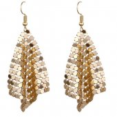A-FX-E6100 Gold Elegance Dinner Korean Inspired Earstuds