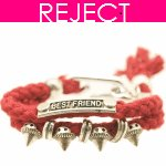 RD0325- Reject Design RD0325- Red spikes Bracelet