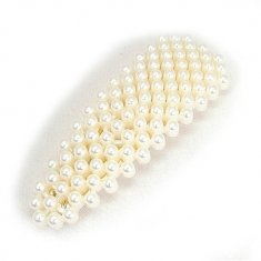 A-MDD-88602 Pearl Hairclip Luxe Gold Wedding Inspired Fashion