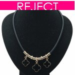 RD0311- Reject Design RD0311- Black Choker Necklace