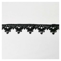 A-Tattoo-012 Vintage Lace One Liner Choker Necklace Fashion Shop