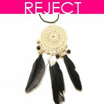 RD0302- Reject Design RD0302- Feather Long Necklace