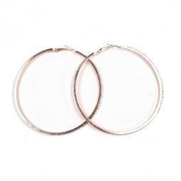 A-SD-ER110888 Rose Gold Circle Pearls XL Size Earstuds Malaysia