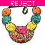 RD0198 - Reject Design bohemian statement necklace