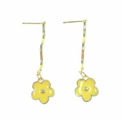 B-TT-603 Dangling Yellow Flower Quenie Collections Malaysia