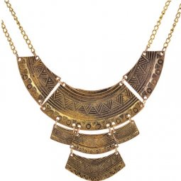 A-Q-Q9377 Vintage moon layer vintage choker necklace wholesale