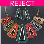 RD0450- Reject Design RD0450- Choker and earrings Set