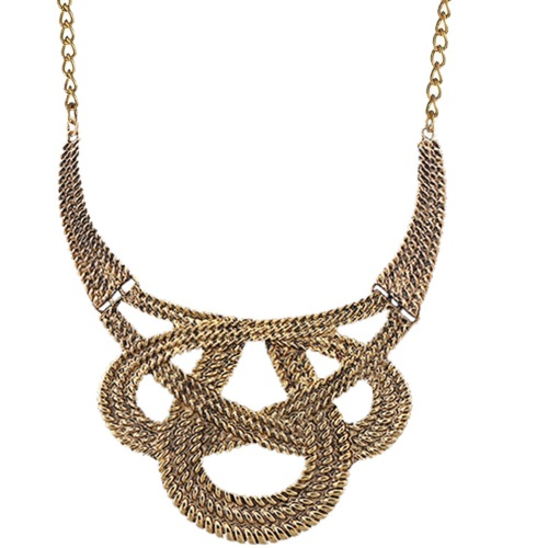 A-SJ-N042 Vintage choker elegant statement necklace malaysia sho - Click Image to Close