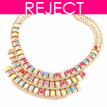 RD0025- Reject Design RD0025 - Statement Choker Necklace