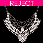 RD0155- Reject Design RD0155- Shiny statement Choker Necklace