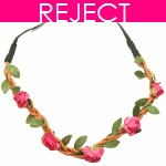 RD0097- Reject Design RD0097- Pink Flower Headchain