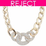RD0091- Reject Design RD0091- Rings Choker Necklace