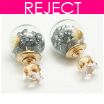 RD0107- Reject Design RD0107- Earstuds Round Diamonds