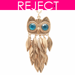 RD0111- Reject Design RD0111- Long Necklace Owl