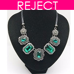 RD0117- Reject Design RD0117- Choker Necklace Green